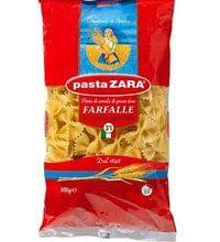 PASTA ZARA F. TO 031 FARFALLE Per 500gm