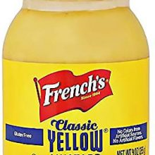 Yellow Mustard Frenchs 255gm