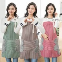 Multifunctional Oil Proof Water Resistant Kitchen Apron