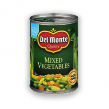 Del Monte Mixed Vegetables-411gm