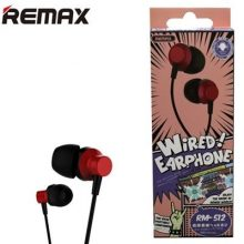 Remax RM-512 Wired Earphone Copy
