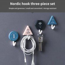 3 Pcs Set Wall-Mounted Hook