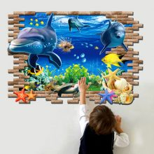 Foreign trade new wall stickers 3D