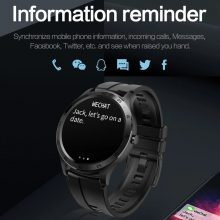 COLMI S20 Smart Watch Men New Round Screen IP67 Life Waterproof Heart Rate Monitoring