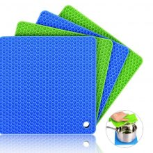 Silicone Non-Slip Square Insulation Heat Resistant Mat