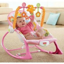 Infant-to-Toddler Baby Rocking and Relax Chair – Pink