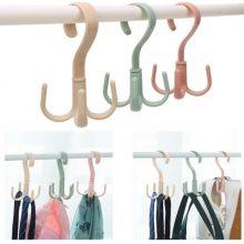 360 Degree Rotatable Bag Shoes Belt Scarf Hanger