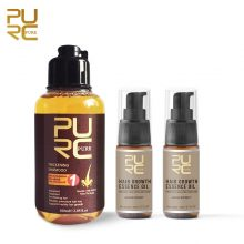 PURE Ginger Hair Shampoo + Oil for Anti Fall Hair Treatment