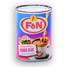 Milk F&N Evaporated Tin 390gm