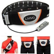 Vibro shape Slimming Belt – Black and White