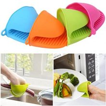 Silicone Heat Insulation Gloves Cooking Oven Clamp Hand Clip Mitt