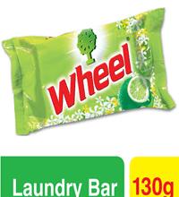 Wheel Washing Powder Laundry Bar 130gm