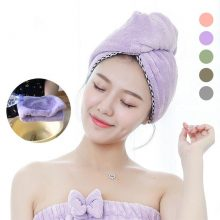 Microfiber Women Hair Towel for Adults