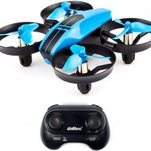 UDI U46 Mini Drone for Kids 2.4Ghz RC Drones with Auto Hovering Headless Mode Nano Quadcopter, Yellow