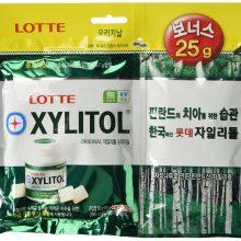 Lotte Xylitol Alpha Project Bottle Gum (Apple MInt)-87gm