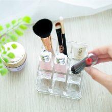 9 Grid Transparent Acrylic Cosmetic Storage Box