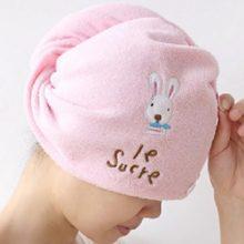 Microfiber Hair Absorbent Towel