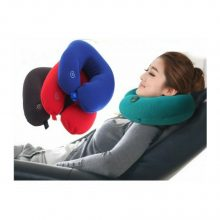 Travel pillow vibrating Neck Massage Cushion Pillow – Multi color