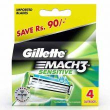 Cartridge Gillette Mach 3 Sensitive 4