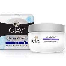 Cream Olay Night Natural White 50gm
