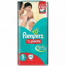 Diaper Pampers S 4-8 KG 40 Piece