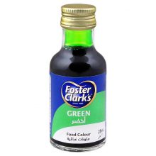 Food Colour Foster Clarks Green