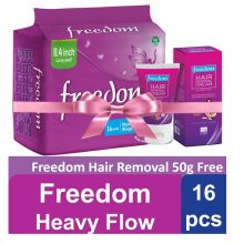 Savlon Freedom Heavy Flow Wings 16Pads