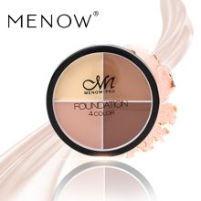 Menow Foundation Concealer 4 Color Smooth Skin Waterproof Sunscreen