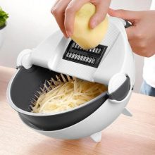 Magic Multi functional Rotate Vegetable Cutter