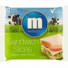 Melbourne Cheese Slice 200 gm