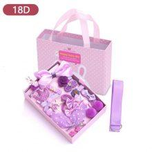 Mix 18 Pcs/Box Children Cute Hair Clip Accessories – 18D