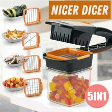 Nicer Dicer Quick Professional Fast Vegetable Cutter Slicer