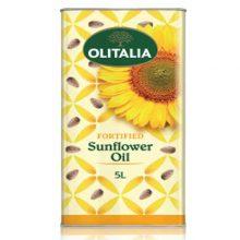 Olitalia Sunflower Oil-Tin 5ltr