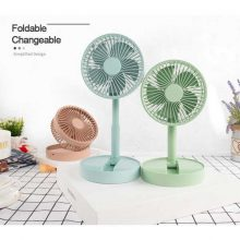 Portable Rechargeable Folding Usb Mini Table Fan 3 Speed Strong Wind Cooler