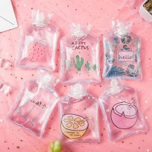 Random Color Mini Cartoon Transparent Hot Water Bag