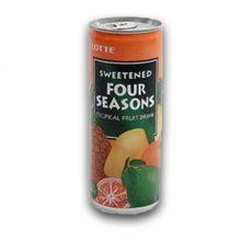 Lotte Sweetened Four Seasons Drink-240ml