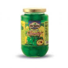 Hosen Green Marachino Cherries-737gm