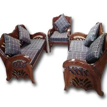 Malaysian Wooden Sofa Set