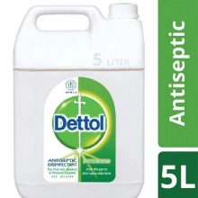 Dettol Antiseptic Liquid (Brown) Single Pack 5 ltr