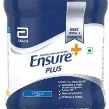 Ensure Plus Vanilla Flavour Powder Jar 400 gm