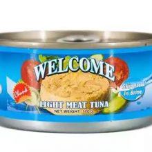 Welcome Light Meat Tuna In Brine (Chunk) 170 gm