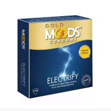H4 Gold Moods Electrify Condoms (W53 ± 2mm) 3 pcs