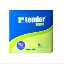 Tender Super Adult Diaper L 100-150 cm (Cyprus) 15 pcs