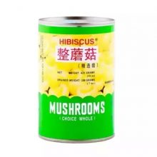 Hibiscus Mushrooms Choice Whole Can 125gm