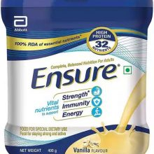 Ensure Nutrition Vanilla Flavour Powder Jar 400 gm
