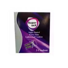V1 Love Super Sex Condom (Width 52 ± 2 mm) 3 pcs