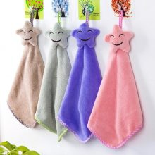 Smiling Face Hanging Hand Towels