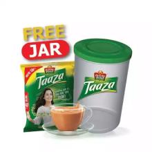 Brooke Bond Taaza Black Tea (Free Jar) 200gm