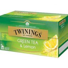 Tea Twinings Green & Lemon 25