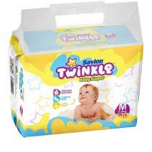 Savlon Twinkle Baby Diaper M(5-9kg)28pcs